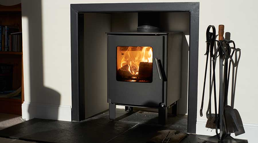 wood burner flue clearance Reading